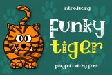 Last preview image of Funky Tiger