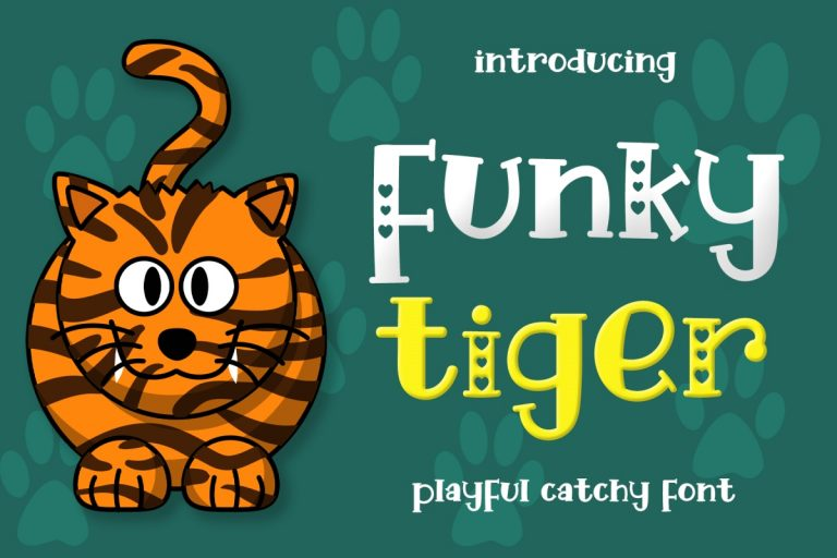 Preview image of Funky Tiger