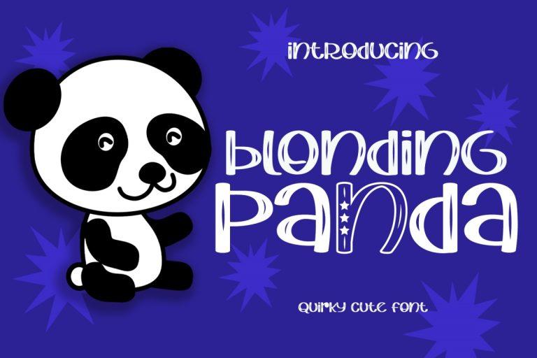 Preview image of Blonding Panda