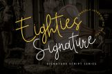 Last preview image of Eighties Signature