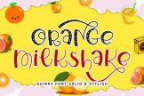Last preview image of Orange Milkshake