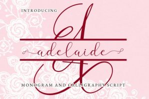 Adelaide Script and Monogram
